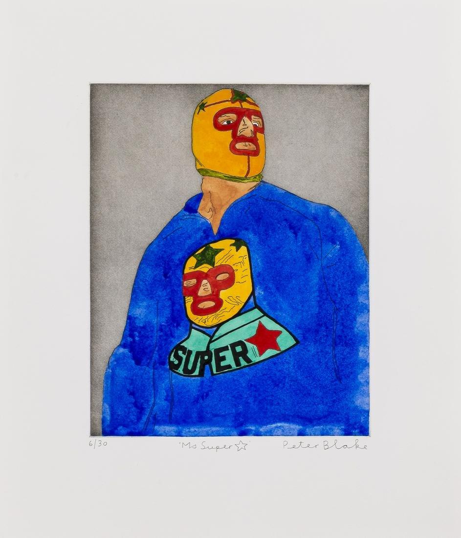 δ Peter Blake (b.1932)  Ms super