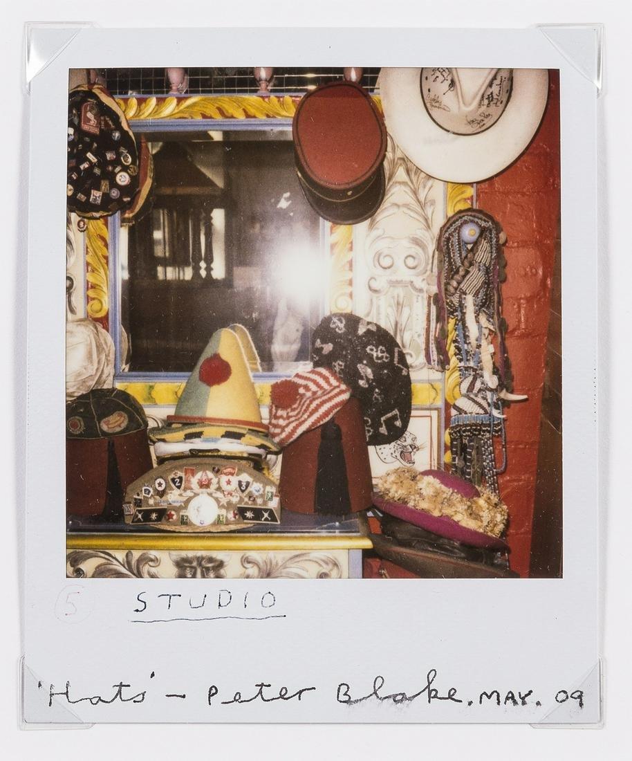 δ Peter Blake (b.1932)  Hats