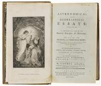 Adams (George) Astronomical and Geographical Essays,