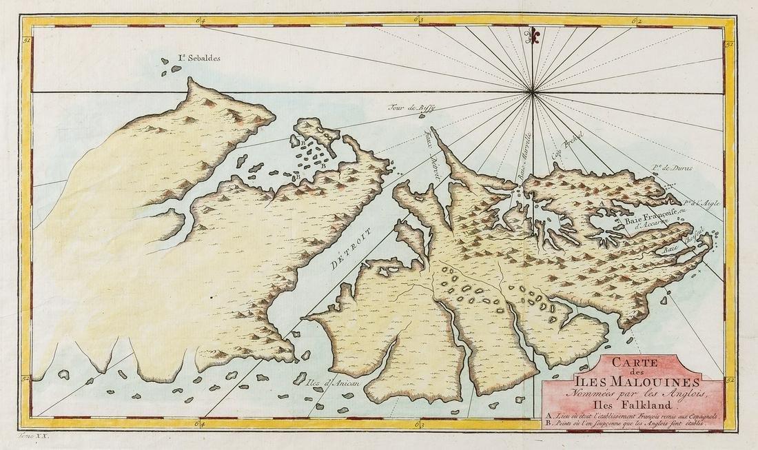 South America.- Falklands.- Bellin (Jacques Nicolas)