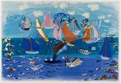 δ Raoul Dufy (1888-1953) Ocean Festival