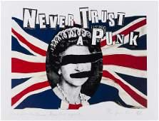 δ Jamie Reid (b.1947) God Save the Queen- Never