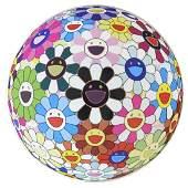 Takashi Murakami (b. 1962) Flowerball (3D) Blood V