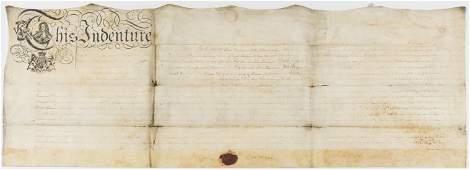 West Indies 2 deeds between John Bourryan and Joseph