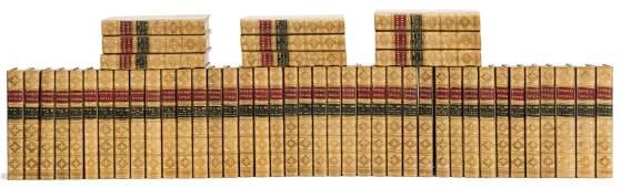 Scott (Sir Walter) [Works], 98 vol., attractively bound
