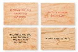 Jenny Holzer (b.1950) Truisms (set of four)