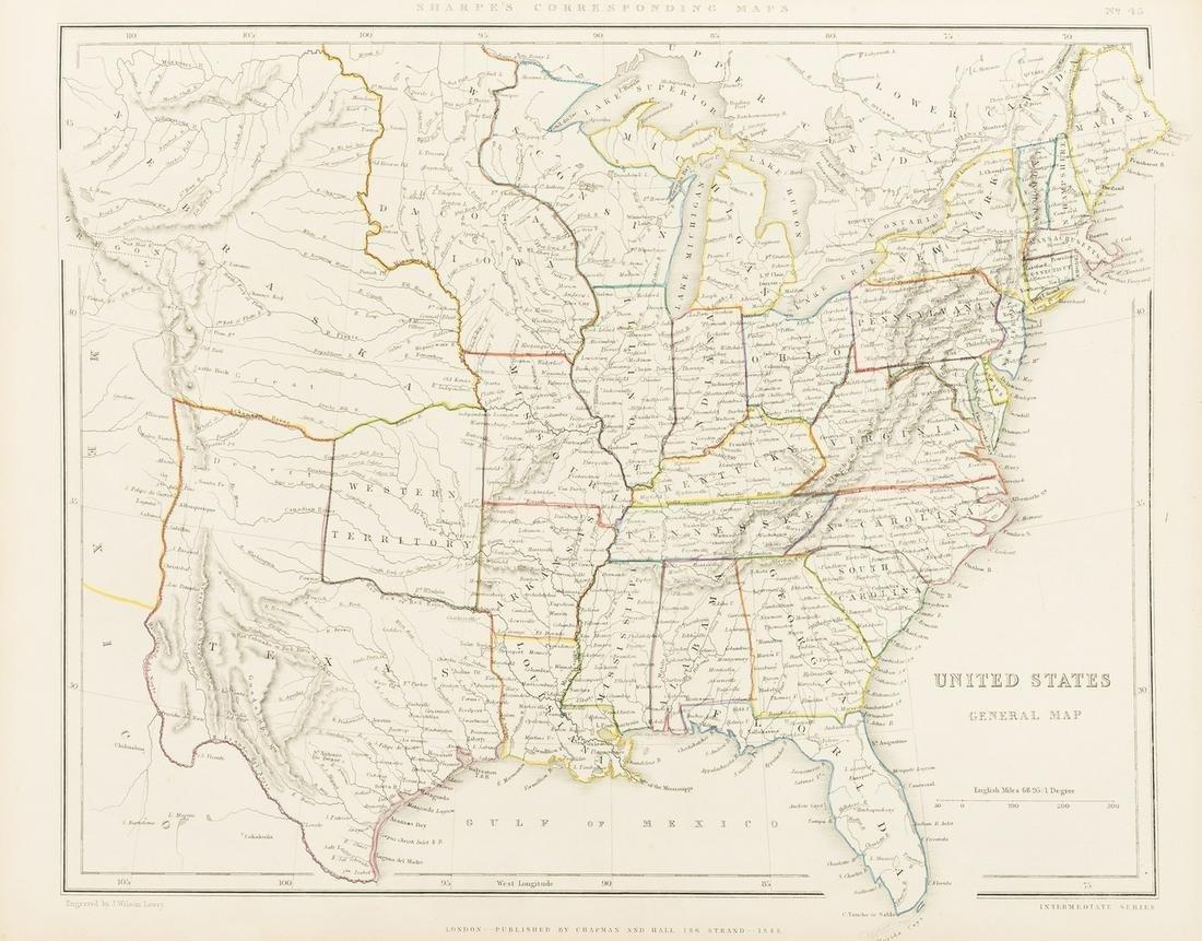Atlases.- Sharpe (John) Sharpe's Corresponding Atlas,