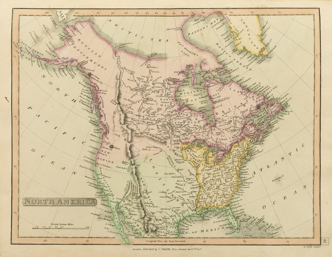 Atlases.- Smith (Charles) Smith's New General Atlas, 45