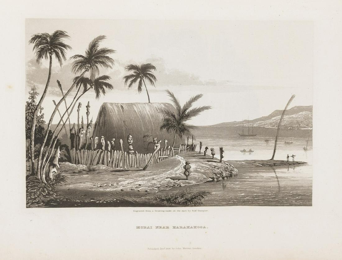 South Seas.- Byron (Capt. George Anson, Lord) Voyage of