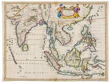 Asia East Indies Speed John A New Map of East