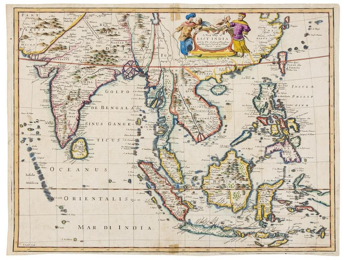 Asia.- East Indies.- Speed (John) A New Map of East