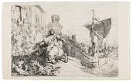 Rembrandt van Rijn (1606-1669) The Ship of Fortune
