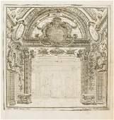 Architecture.- Bibiena (Ferdinando Galli), after.