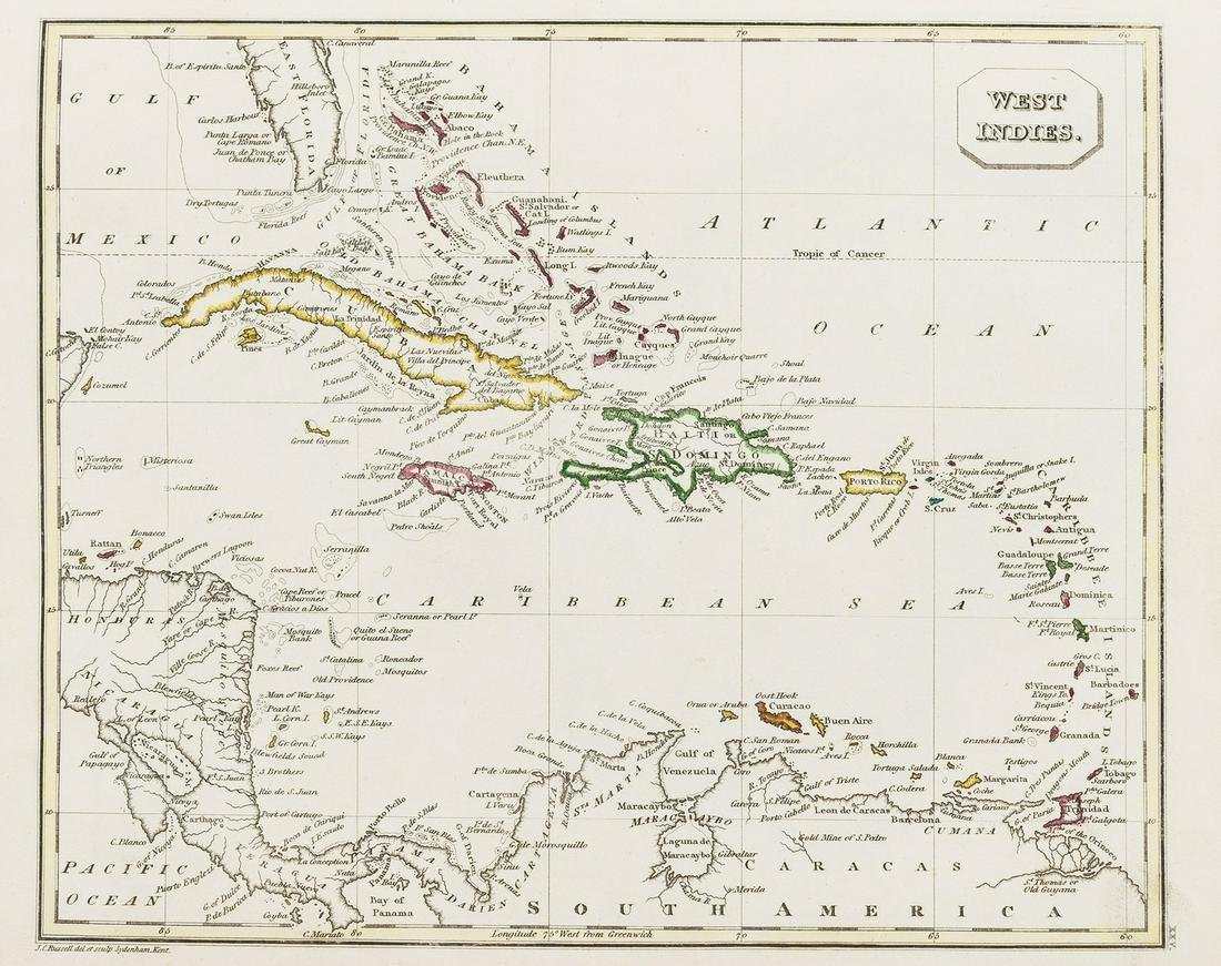 Atlases.- Ostell's New General Atlas, new edition, 1823;