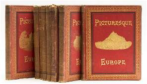 Europe Bayard Taylor Picturesque Europe 8 vol