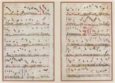 Music.- [Illuminated Musical Manuscript on vellum],