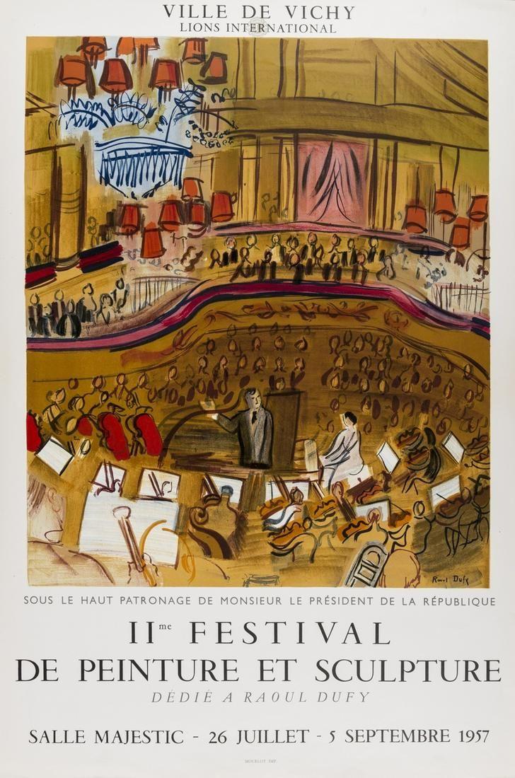 δ Raoul Dufy (1877-1953) 11me Festival de