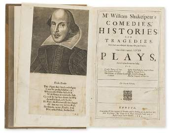 Shakespeare (William) Comedies, Histories, and
