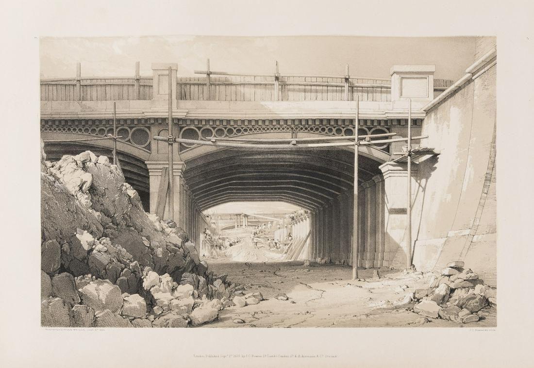 Bourne (John C.) Drawings of the London and Birmingham