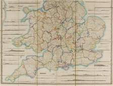 Wyld James Railway Map of England Wales and