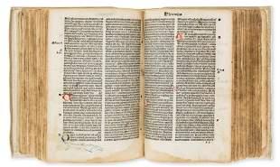 Bible, Latin.- Biblia latina, edited by Petrus Angelus