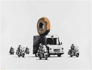 δ Banksy (b.1974) Donuts (Special Edition -