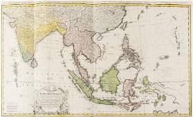 East Indies Homann Heirs Carte des Indes Orientales