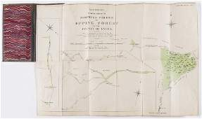 Epping Forest.- Driver (Robert, surveyor) Plan in Four