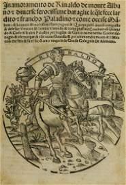 [Forti (Girolamo)] Inamoramento de' Rinaldo de Monte