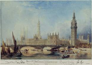 British Prime Ministers.- , The Palace of Westminster