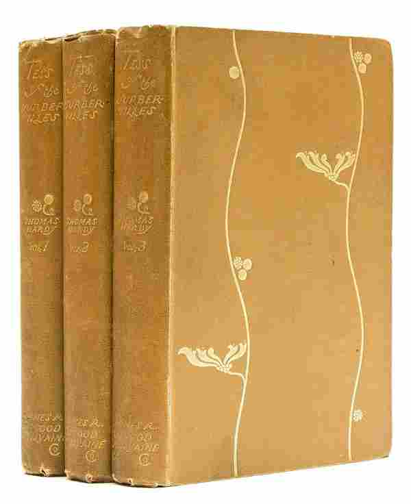 Hardy (Thomas) Tess of the d'Urbervilles. A Pure