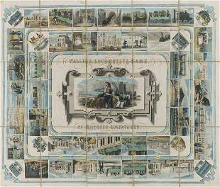 Railways.- Game.- Wallis (Edward, publisher) Wallis's