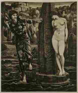 Burne-Jones (Sir Edward) The Work of Edward