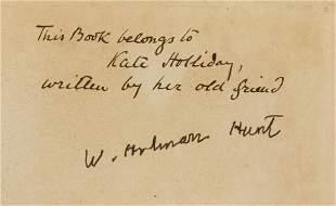 Holman Hunt (W.) Pre-Raphaelitism and the