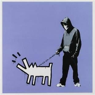 δ Banksy (b.1974) Choose Your Weapon (Bright