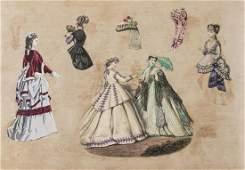 Scrap album.- Four Victorian scrap albums, c.1880s.