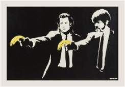δ  Banksy (b.1974)  Pulp Fiction