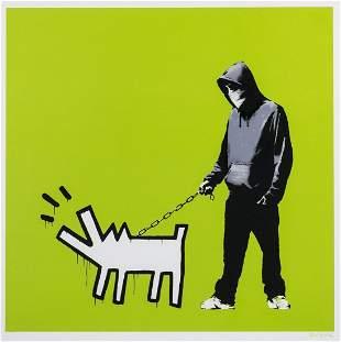 δ Banksy (b.1974) Choose Your Weapon (Green)