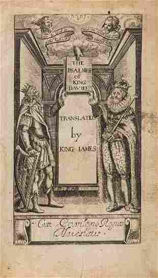 Bible, English.- The Psalmes of King David translated