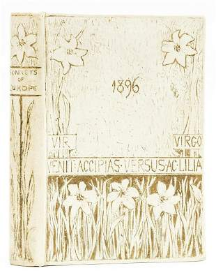 Binding.- Waddington (Samuel) The Sonnets of Europe, in