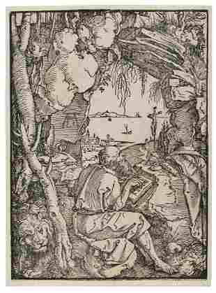 Albrecht Dürer (1471-1528)  Two woodcuts: i) Saint