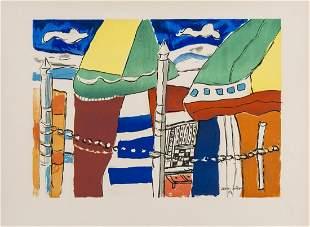 δ Fernand Leger (1881-1955) after.  Deauville