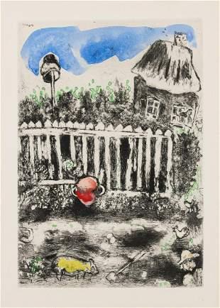 δ Marc Chagall (1887-1985)  Le Pot de Terre et le