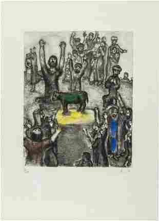 δ Marc Chagall   Le Veau d'Or (see Cramer 30)