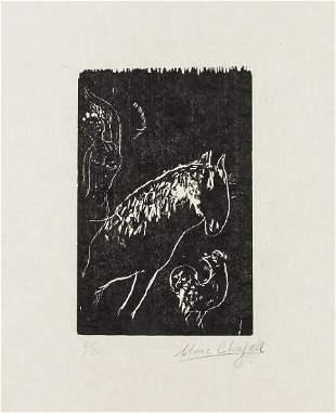 δ Marc Chagall (1887-1985)  Le Juif Priant, Juif