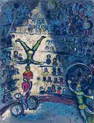 δ Marc Chagall (1887-1985) Cirque (Cramer 68)