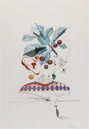 δ Salvador Dali (1904-1989)  FlorDali. Les Fruits