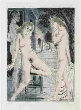 δ Paul Delvaux (1897-1994)  Sept Dialogues avec