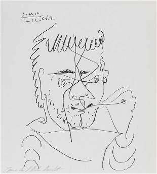 δ Pablo Picasso (1881-1973)  Pour Henri