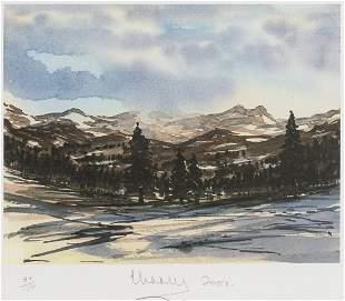 δ HRH Prince of Wales (b.1948)  Balmoral Winter